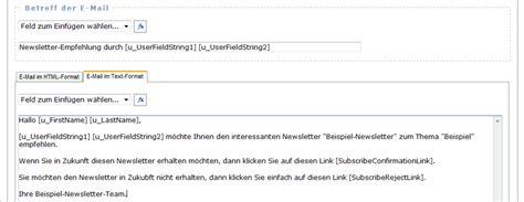 Newsletter Schreiben Muster Php Mailinglisten Verwaltung Supermailinglist Beispiel Zur Erstellung Eines Formulars Zur