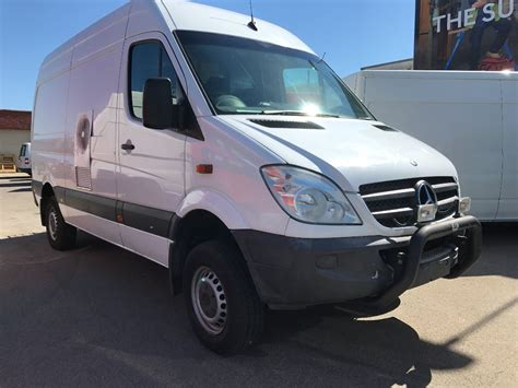 4x4 Sprinter For Sale by Mercedes Sprinter 4x4 Details Used Vans For Sale In
