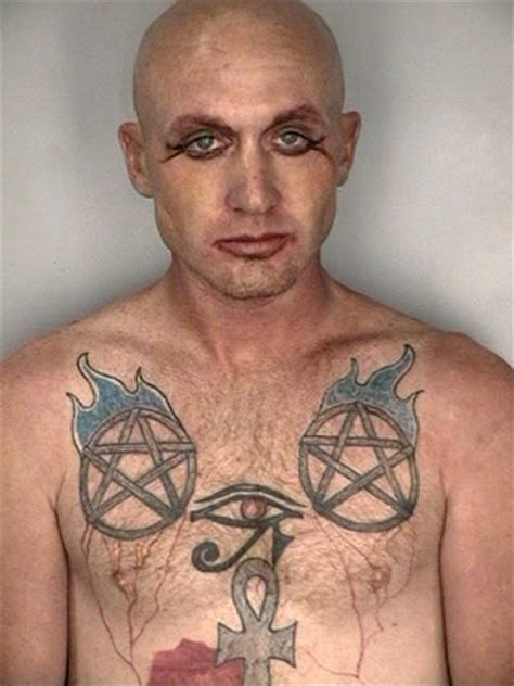 e pluribus unum tattoo 15 most unfortunate tattoos for a mugshot oddee