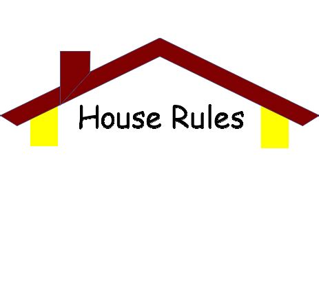house rules free cliparts house rules cliparts