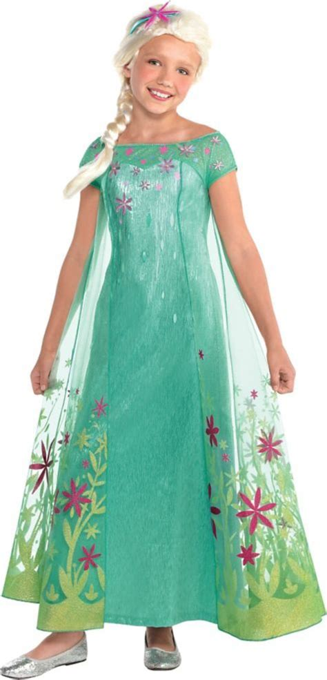 disfraz de frozem reciclable toddler girls elsa costume supreme frozen fever elsa