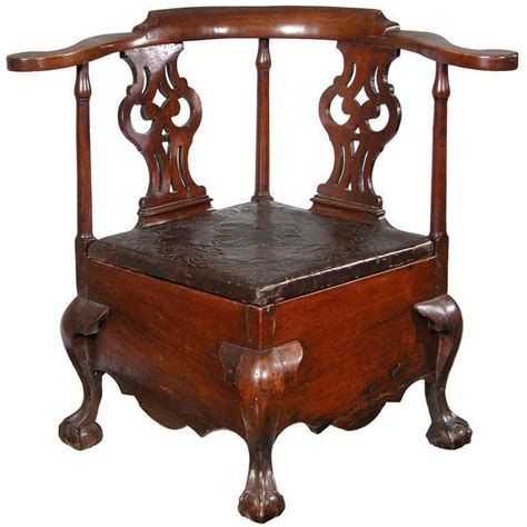 chippendale kommode fully developed mahogany chippendale commode stool for
