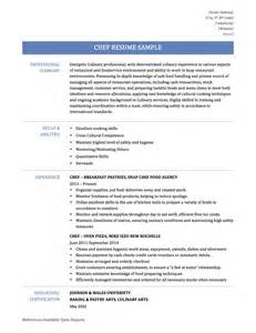 Sample Sous Chef Resume catering chef resume skills chef resume sample examples sous chef