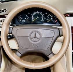 Mercedes Steering Wheel Cover Oak Leather Steering Wheel Cover 1998 2009 Mercedes