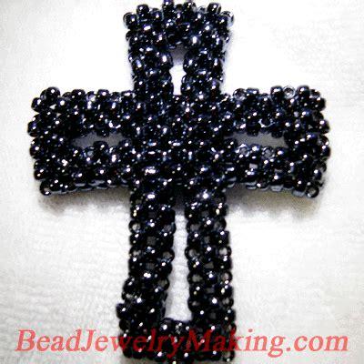 beaded cross free pattern pendant free patterns