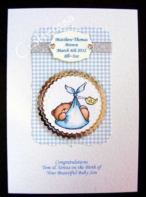 11 best images about baby cards by crafteresa on