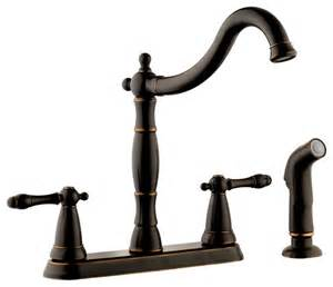 2 Handle Kitchen Faucets 2 handle kitchen faucet with side sprayer traditional