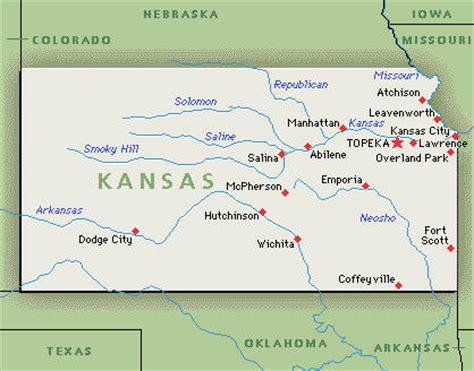 us map states kansas state of kansas