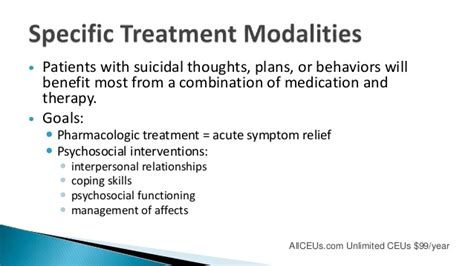 Treatment Goals For Detox Patient by Screening And Intervening In Crisis Part Of The Addiction