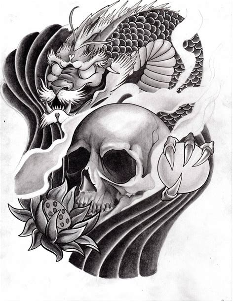 dragon skull tattoo designs directory japanese butterfly flash flash