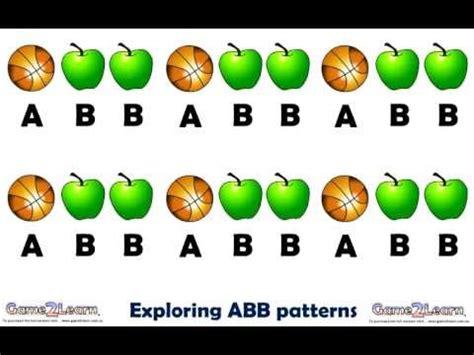 aab pattern song lyrics repeating abb patterns