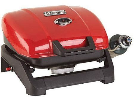 coleman backyard select grill coleman table top gas grill a perfect barbeque grill for