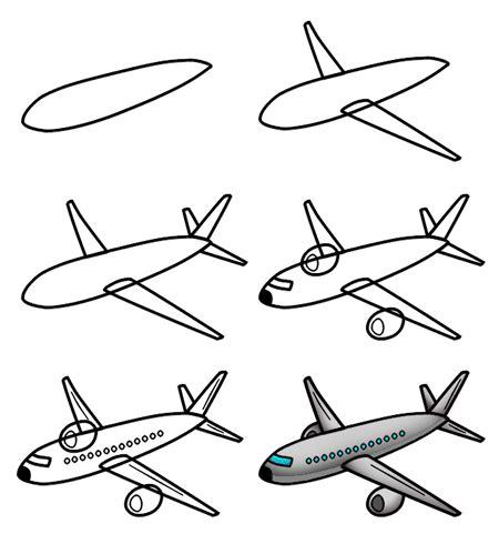 Draw A Plan drawing a cartoon airplane