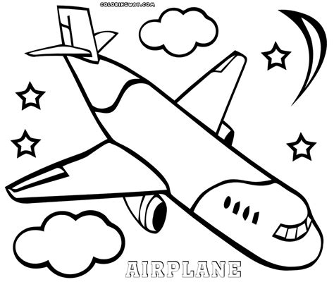 Coloring Pages For Airplanes