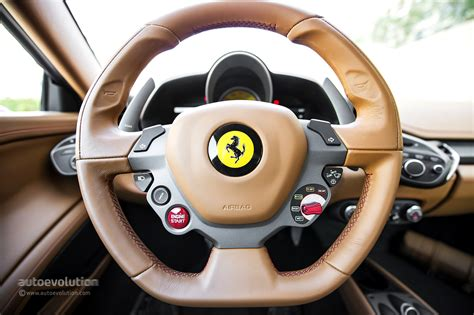 Ferrari F12 Steering Wheel by Ferrari Developing New Steering Technology For Perfect