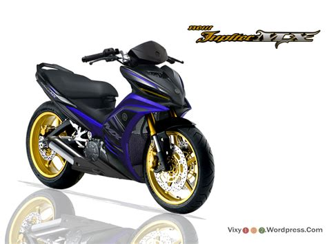 Lu Led Motor Yamaha Mx modifikasi jupiter mx motor yamaha njmx jupiter 135cc