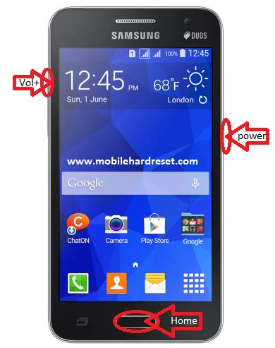 Reset Samsung Core 2   how to hard reset samsung galaxy core 2 gt g355h