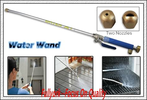 Jetting Stick Power Spray Ikame high pressure water jet power washer as seen on tv water spray gun with 2 free nozzles buy