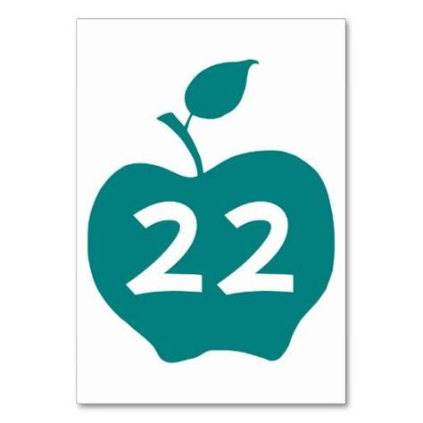 Apple Gift Card Pin Number - teal apple table number