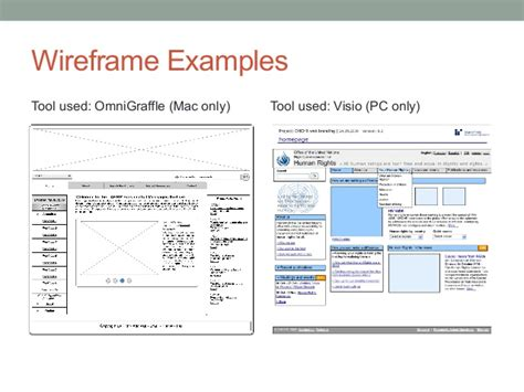wireframe visio wireframing and design course