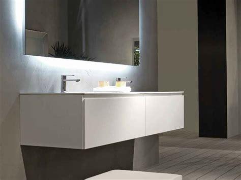 cabinet de curiosité contemporain 966 mobile lavabo laccato sospeso b2k mobile lavabo doppio