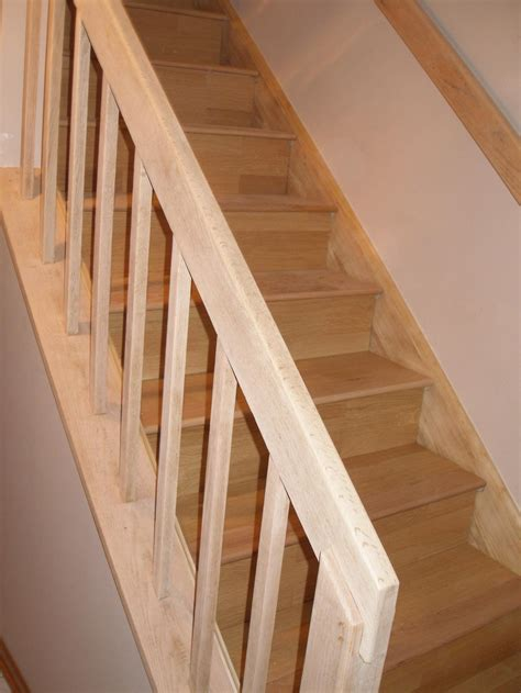Steps of How to Install Hardwood Stairs with Railing