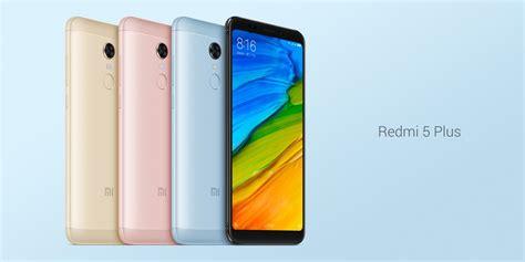 Xiaomi Redmi 5 Plus xiaomi redmi 5 et 5 plus officialis 233 s 233 crans 18 9 et