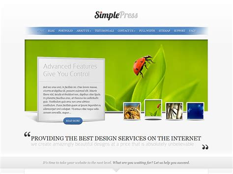 wordpress themes simple design simplepress simple wordpress theme