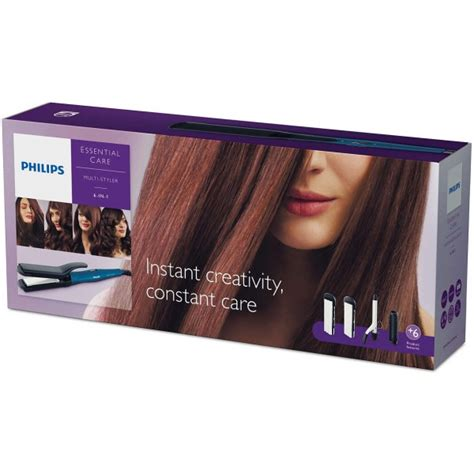Hair Styler Multi 6 In 1 Philips Hp 8698 Successor Hp 4698 philips hp 8698 multi styler 6 in 1 hair styler 220 volts