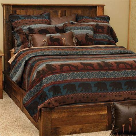 rustic wildlife coverlet bedding ensemble bedroom  dos rustic bedding deer bedding