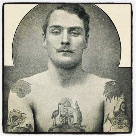 19th century tattoos the victorian 19th century tattooed dandy vintage rebel photograph