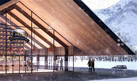 alpine architecture a dairy cooperative in italy gets a renovation inspired by