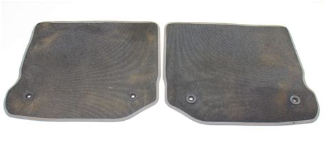 mats jetta mk4 rear floor mat set 99 05 vw jetta golf gti mk4 grey