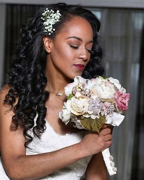 Wedding Hairstyles For Black Curly Hair by 41 Wedding Hairstyles For Black To Drool 2018