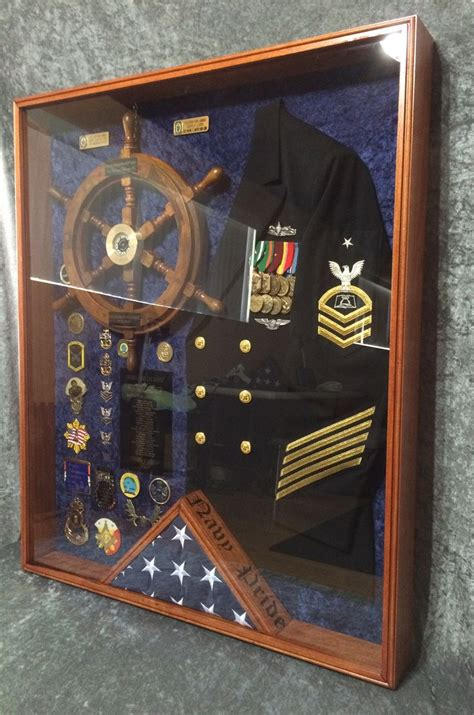 navy shadow box questions design price contact