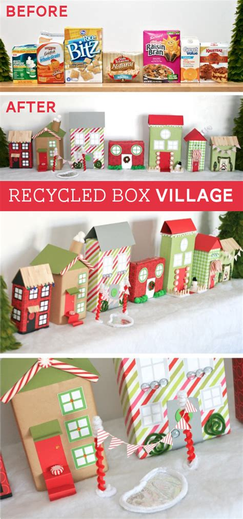 from recycled boxes paging supermom