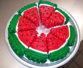 Watermelon Decorations by Watermelon Cakes And Adding Color To Summer