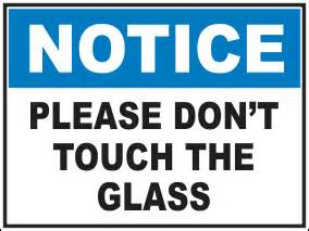 security glass door ozihub signage and safety products