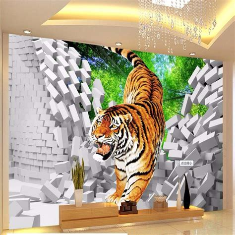 tiger wall mural compare prices on tiger wall mural shopping buy low price tiger wall mural at factory