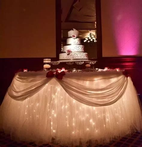 How to decorate with tulle for weddings   Quora