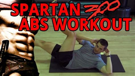 spartan 300 abs workout
