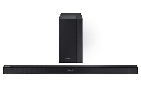 samsung factory recertified hw km45c 2 1 channel soundbar w wireless subwoofer ebay