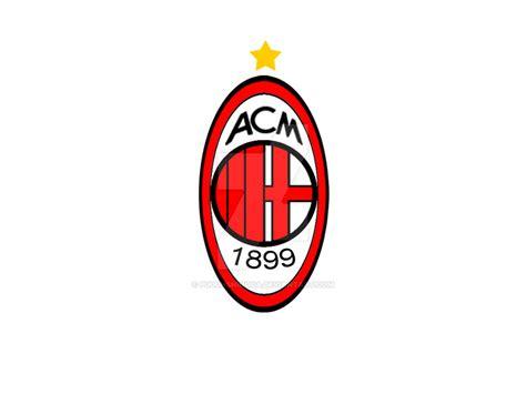 Kaos A C Milan Logo 2 Anak Ank Acm08 Laki Perempuan ac milan logo by puguhshinoda on deviantart