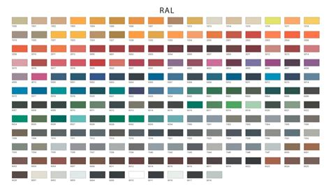 ral color chart complete ral color chart related keywords complete ral