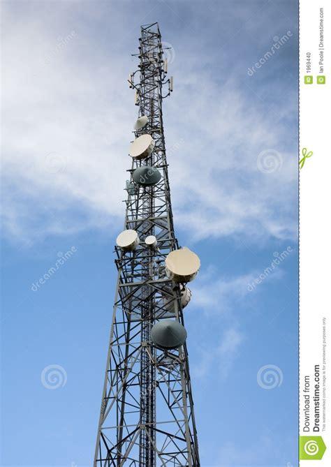 Antena Microwave radio antenna mast stock photo image of electronics