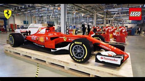 Tamiya Nascar Speed lego build size sf70 h formula 1 car