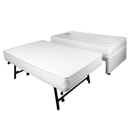 pop up trundle bed sleepeezee complete pop up trundle set