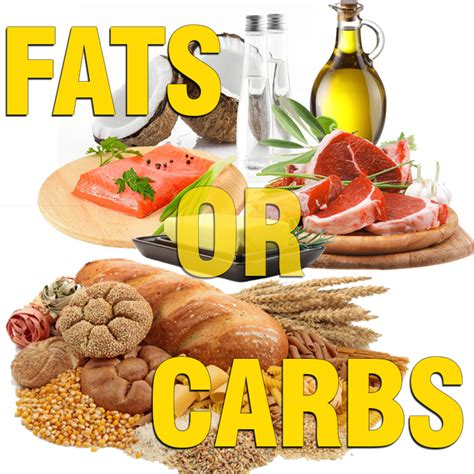 carbohydrates i should eat carbs or fats and how much should i eat