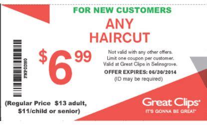 haircut coupons canada great clips coupon sunbury hair salon health and