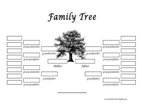 34 Family Tree Templates Pdf Doc Excel Psd Free Premium Templates Free Fill In Family Tree Template